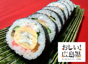 瀬戸穴子の出し巻き寿司 1,600円(税込1,860円)
