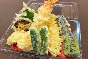 天ぷらのテイクアウトは1,200円